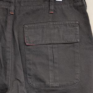 Club Monaco Pants - club monaco   black cotton hi-rise chino pants 6